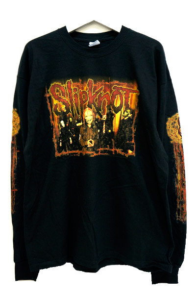 SLIPKNOT Distressed Group Room Longsleeve