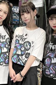 HYPER CORE MF-01 mistFES2021 × HYPER COREコラボレーションTシャツ White