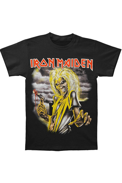 IRON MAIDEN KILLERS Large Print T-Shirt