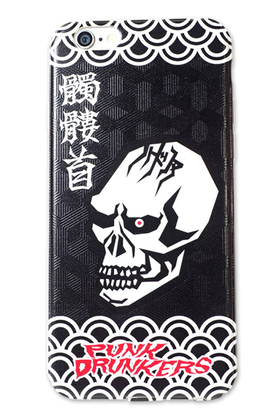 PUNK DRUNKERS 【PDSxTREST】NEW iPhone case 髑髏首