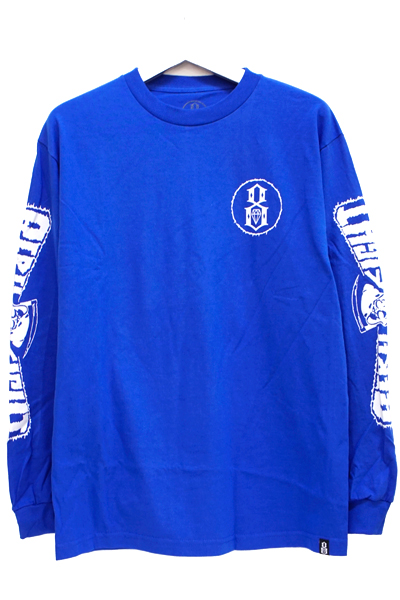 REBEL8 PERISHED LONGSLEEVE TEE ROYAL
