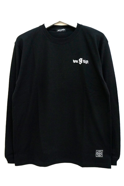 NineMicrophones howhigh L/S BLACK