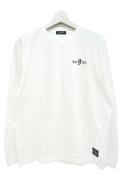 NineMicrophones howhigh L/S WHITE