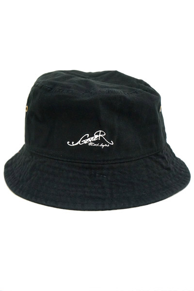 GoneR New Logo Bucket Hat BLACK/WHITE