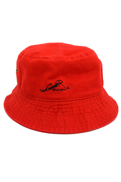 GoneR New Logo Bucket Hat RED