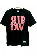 RIP DESIGN WORXX エレメントTシャツ RED