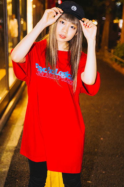 PSYCHOLOGICAL METAMORPHOSIS PLMP CARD TEE RED
