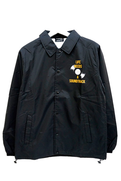 NineMicrophones COACH JACKET-Rebel label- BLACK