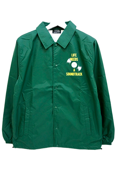 NineMicrophones COACH JACKET-Rebel label- GREEN