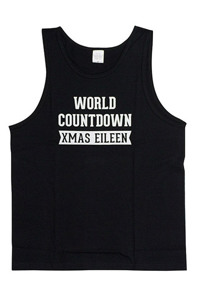 Xmas Eileen 『WORLD COUNTDOWN』タンクトップ BLK