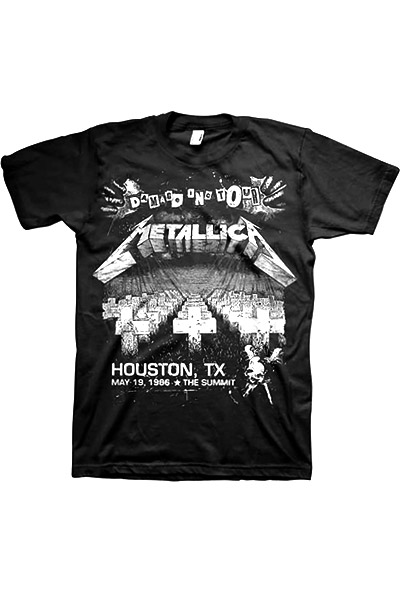 METALLICA DAMAGE ON TOUR