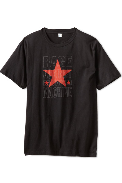 RAGE AGAINST THE MACHINE STACKED STAR