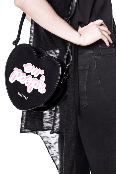 KILL STAR CLOTHING (キルスター・クロージング) People Heartbreaker Bag [B]