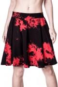 KILL STAR CLOTHING (キルスター・クロージング) Dye Fast Dirge Skirt [BLOOD]