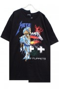 UNUSUAL REMAKE BAND T-SHIRTS (METALLICA)