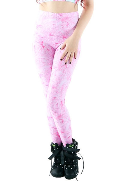 IRON FIST CLOTHING COTTON CANDY LEGGING PINK