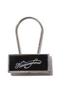 NineMicrophones key holder BLACK/WHITE