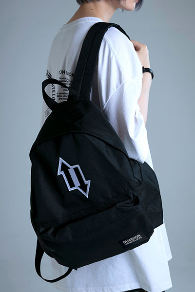"DI:VISION ""SPLIT"" BACKPACK BLACK"