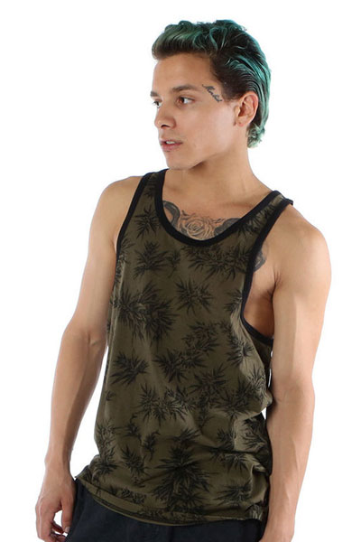 IRON FIST CLOTHING BEST BUDS TANK OLIVE
