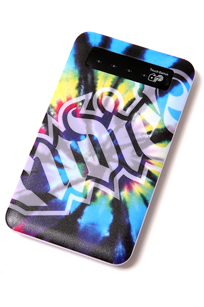 RUDIE'S SPARK TIEDYE MOBILE BATTERY