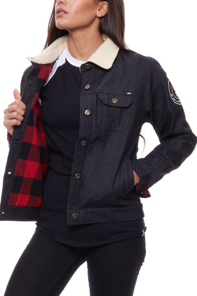 REBEL8 WOMENS CAUTION JACKET