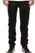 REBEL8 STANDARD FIT DUCK CANVAS BLACK PANTS