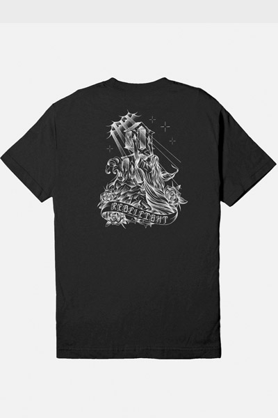 REBEL8 Sanctified Tee Black
