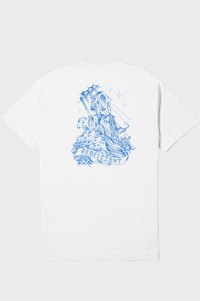 REBEL8 Sanctified Tee White