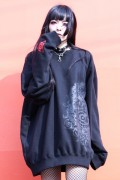 ガリュウホンポ 顔トレーナー 黒×赤
