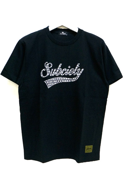 Subciety (サブサエティ) HEMP GLORIOUS S/S BLACK
