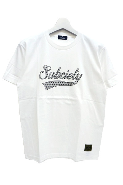 Subciety (サブサエティ) HEMP GLORIOUS S/S WHITE