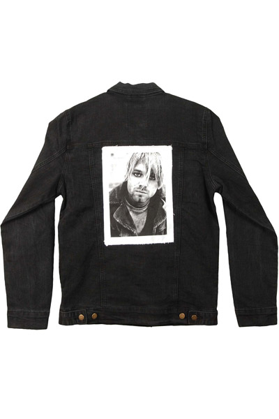 NIRVANA Kurt Photo Patch Denim Jacket