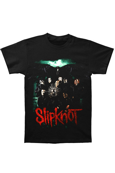 SLIPKNOT Prepare For Hell 2015 Tour Backprint-Black t-shirt