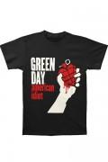 GREEN DAY American Idiot Black T-shirt
