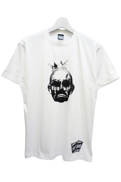 RIP DESIGN WORXX clown king T-shirt WHT