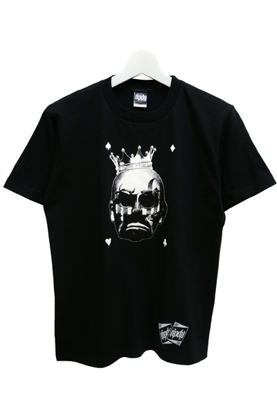RIP DESIGN WORXX clown king T-shirt BLK