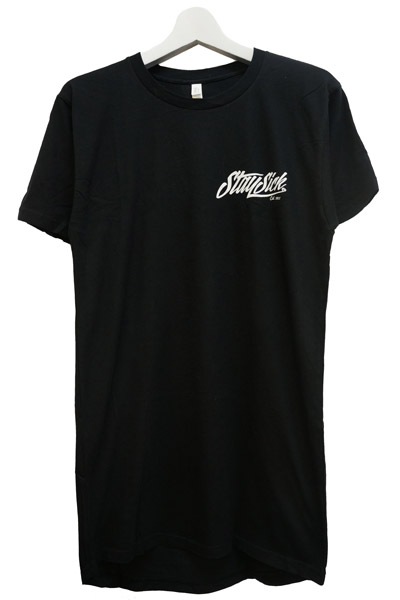 STAY SICK CLOTHING New Script Tall Black