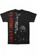 DISTURBED Up Your Fist T-Shirts RED