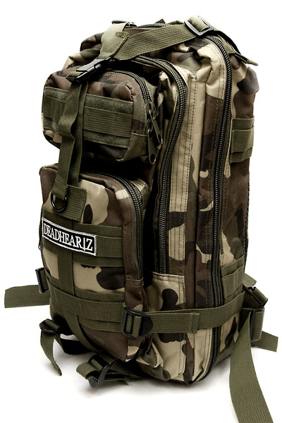 DEADHEARTZ assault bag WOOD LAND