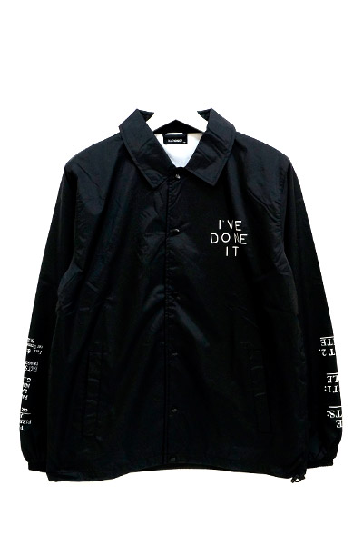 Subciety (サブサエティ) COACH JACKET-THE FACTS:- BLACK