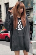 REBEL8 EIGHTH PULLOVER HOODIE BLACK
