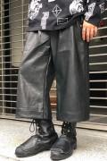 PARADOX PX16-PT05 LEATHER PANTS(BLACK)