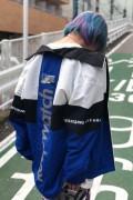 MISHKA MAW190535 JKT BLUE