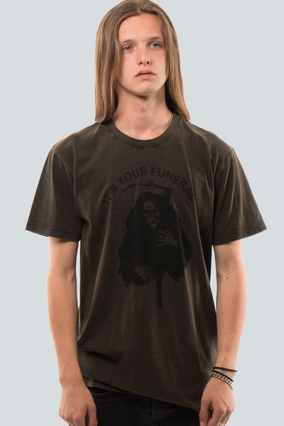 DROP DEAD CLOTHING Your Funeral T-shirt