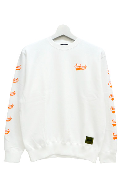Subciety (サブサエティ) SWEAT-GLORIOUS- WHITE