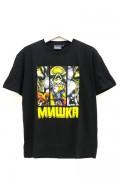 MISHKA(ミシカ) MAW170007  3BAR T-SHIRT