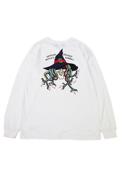 SABBAT13 SBT-LT-017 SURPENT WITCH L/S T WHITE