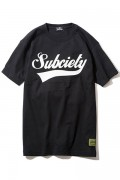 Subciety GLORIOUS S/S - BLACK/WHITE