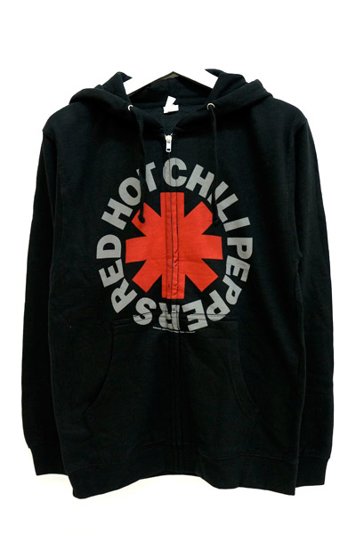 RED HOT CHILI PEPPERS Zip Up Hoodie