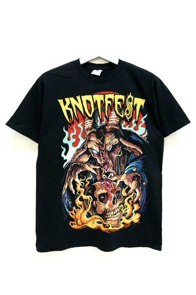 SLIPKNOT Knotfest-Brain Ripper-Black t-shirt